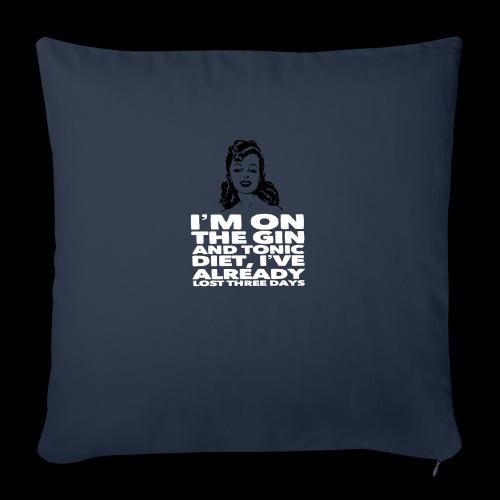 Vintage lady funny quote - Sofa pillowcase 17,3'' x 17,3'' (45 x 45 cm)