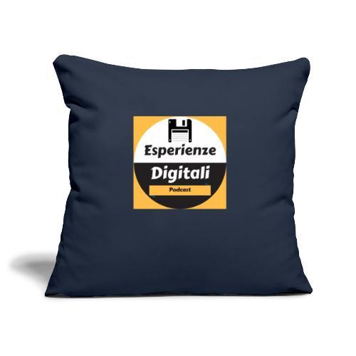 Logo Esperienze Digitali - Copricuscino per divano, 45 x 45 cm