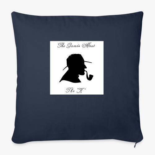 The Game's Afoot! - Sofa pillowcase 17,3'' x 17,3'' (45 x 45 cm)