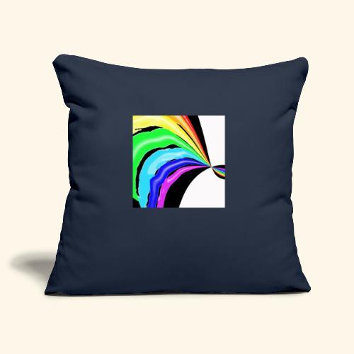 Arcobaleno pop - Copricuscino per divano, 45 x 45 cm
