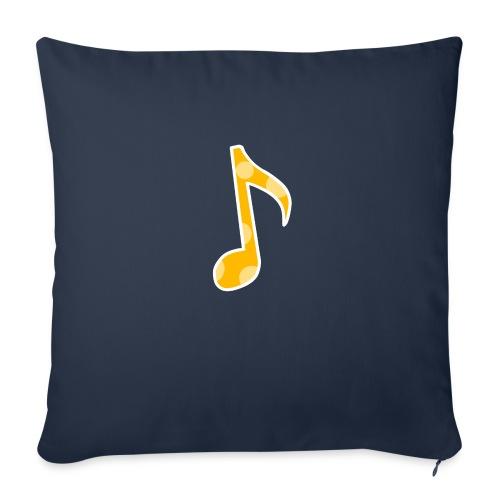 Basic logo - Sofa pillowcase 17,3'' x 17,3'' (45 x 45 cm)