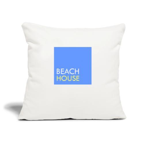 Blue Summer Logo - Sofa pillowcase 17,3'' x 17,3'' (45 x 45 cm)