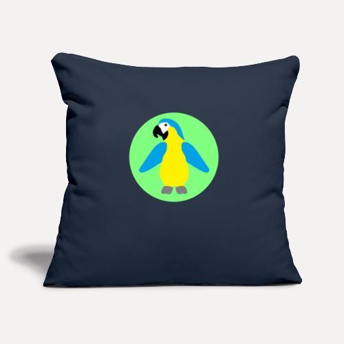 Yellow-breasted Macaw - Sofa pillowcase 17,3'' x 17,3'' (45 x 45 cm)