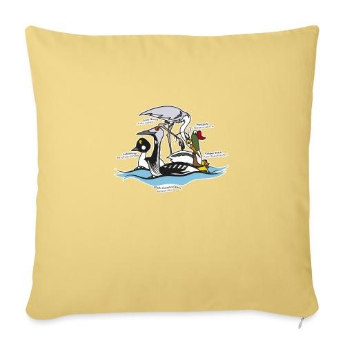 Birds of a Feather - Sofa pillowcase 17,3'' x 17,3'' (45 x 45 cm)