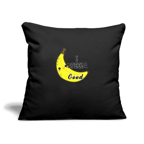 Banana divertente kawaii carina fumetto - Copricuscino per divano, 45 x 45 cm