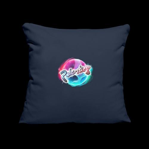 Polarities Logo - Sofa pillowcase 17,3'' x 17,3'' (45 x 45 cm)