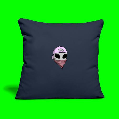 gangsta alien logo - Copricuscino per divano, 45 x 45 cm