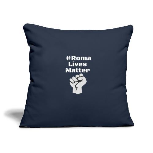 Fist Roma Lives Matter - Sofa pillowcase 17,3'' x 17,3'' (45 x 45 cm)
