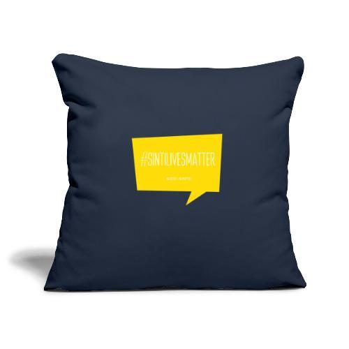 Sinti Lives Matter - Sofa pillowcase 17,3'' x 17,3'' (45 x 45 cm)