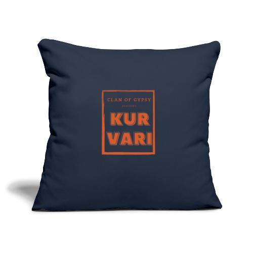 Clan of Gypsy - Position - Kurvari - Sofa pillowcase 17,3'' x 17,3'' (45 x 45 cm)