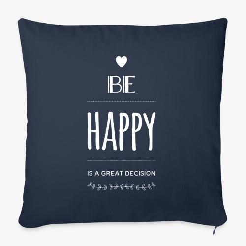 BE Happy ❤️ - Sofakissenbezug 44 x 44 cm