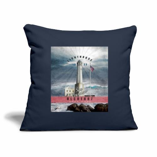 Alcatraz Lighthouse - Textiles and Gift Products - Sohvatyynyn päällinen 45 x 45 cm