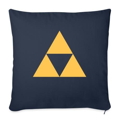Triangle design - Pudebetræk 45 x 45 cm