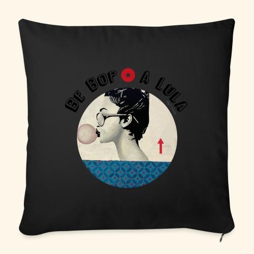 Be bop a lula - Housse de coussin décorative 45x 45cm