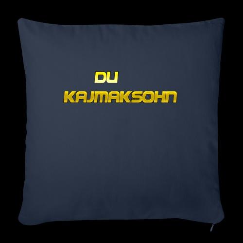 Du KajmakSohn - Sofakissenbezug 44 x 44 cm