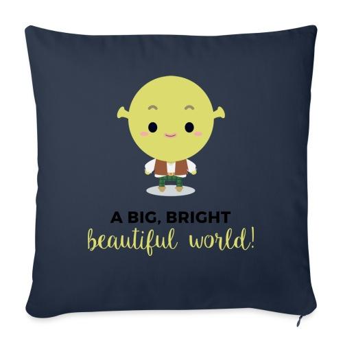 Shrek (Dark) - Copricuscino per divano, 45 x 45 cm