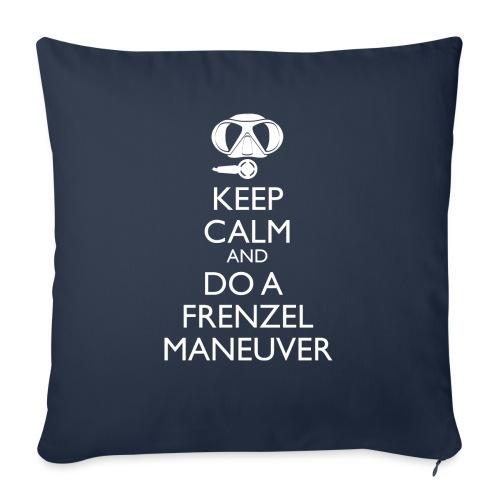 Keep calm and Frenzel - Sofakissenbezug 44 x 44 cm