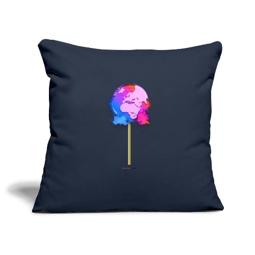 TShirt lollipop world - Housse de coussin décorative 45 x 45 cm