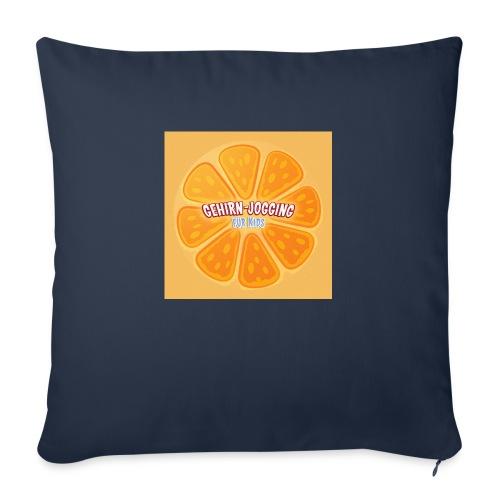 orangetextur - Sofakissenbezug 44 x 44 cm