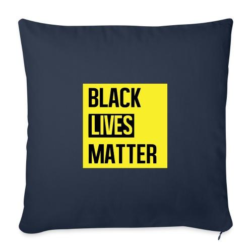 Black Lives Matter (yellow) - Sierkussenhoes, 45 x 45 cm