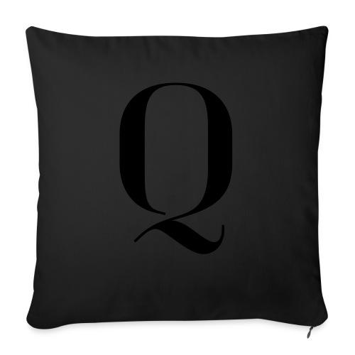 Q - Sofa pillowcase 17,3'' x 17,3'' (45 x 45 cm)