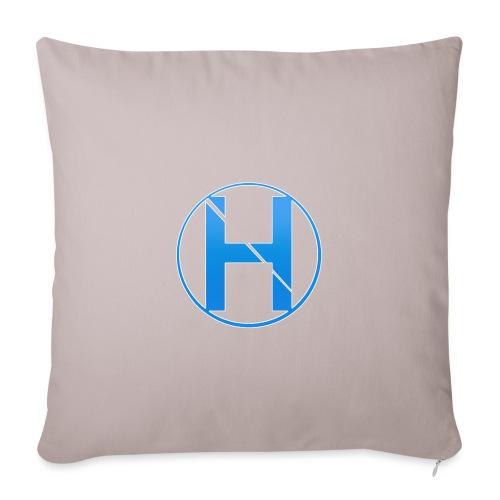 HorneHD Logo - Sofa pillowcase 17,3'' x 17,3'' (45 x 45 cm)