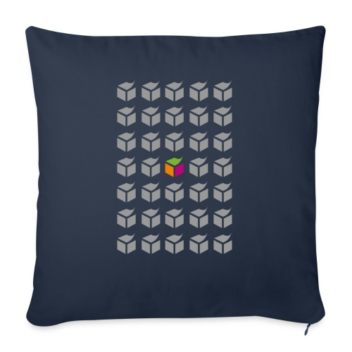 grid semantic web - Sofa pillowcase 17,3'' x 17,3'' (45 x 45 cm)