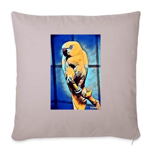 Bird in color - Sohvatyynyn päällinen 45 x 45 cm