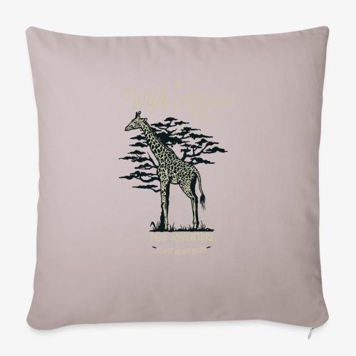 Girafe - Housse de coussin décorative 45x 45cm