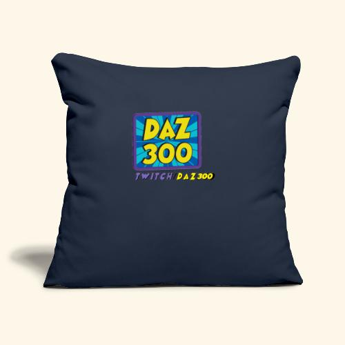 daz logo 2 0 - Sofa pillowcase 17,3'' x 17,3'' (45 x 45 cm)