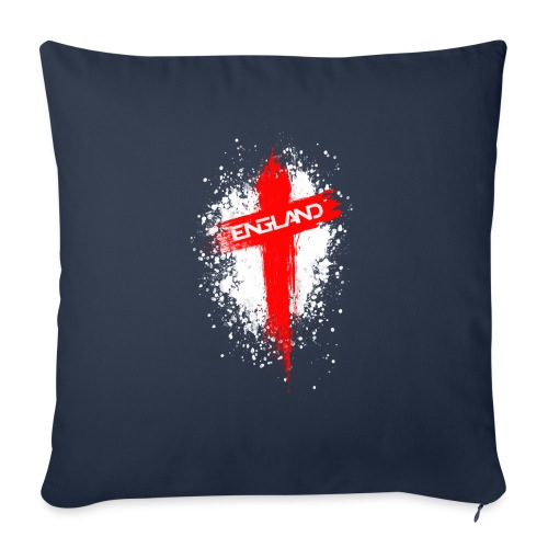 England Painted-Red - Sofa pillowcase 17,3'' x 17,3'' (45 x 45 cm)