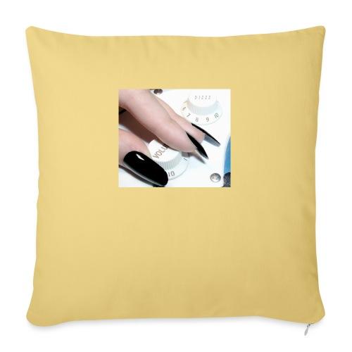 Gothic guitar girl - Poszewka na poduszkę 45 x 45 cm
