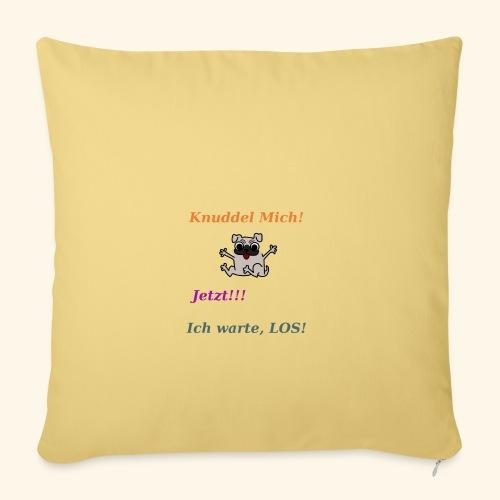 Hunde Knuddeln - Sofa pillowcase 17,3'' x 17,3'' (45 x 45 cm)