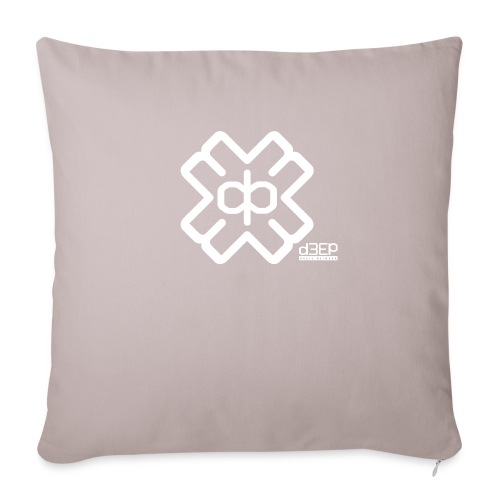 July D3EP Blue Tee - Sofa pillowcase 17,3'' x 17,3'' (45 x 45 cm)