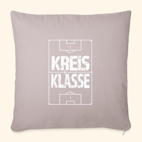 KREISKLASSE im Fußballfeld - Sofakissenbezug 44 x 44 cm