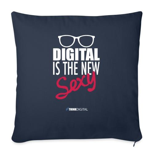 DIGITAL is the New Sexy - Lady - Copricuscino per divano, 45 x 45 cm
