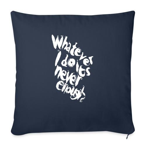 WIDINE WHT - Copricuscino per divano, 45 x 45 cm