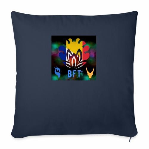 BFT - Housse de coussin décorative 45x 45cm