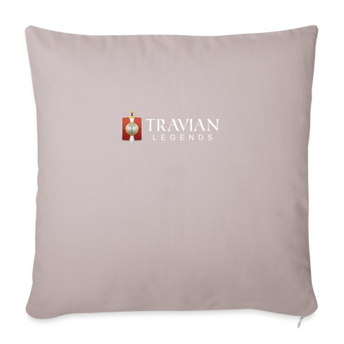Travian Legends Logo 2 - Sofa pillowcase 17,3'' x 17,3'' (45 x 45 cm)
