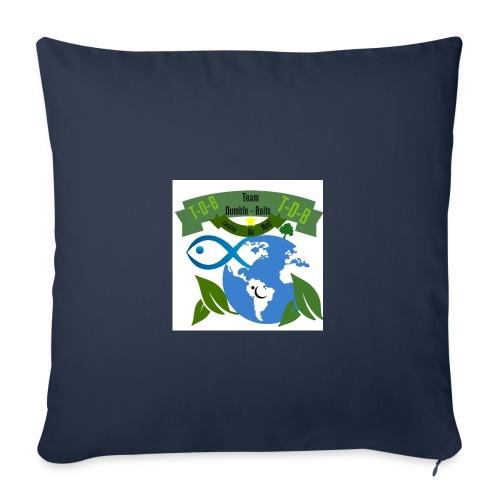 logo dumble baits - Housse de coussin décorative 45x 45cm
