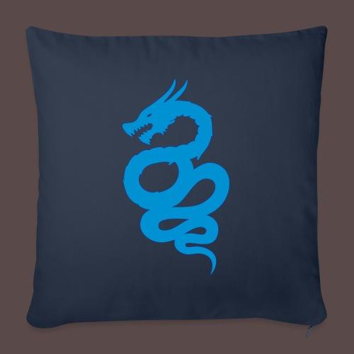 Biscione Drago - Copricuscino per divano, 45 x 45 cm