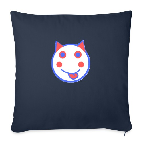 Red White And Blue - Alf Da Cat - Sofa pillowcase 17,3'' x 17,3'' (45 x 45 cm)