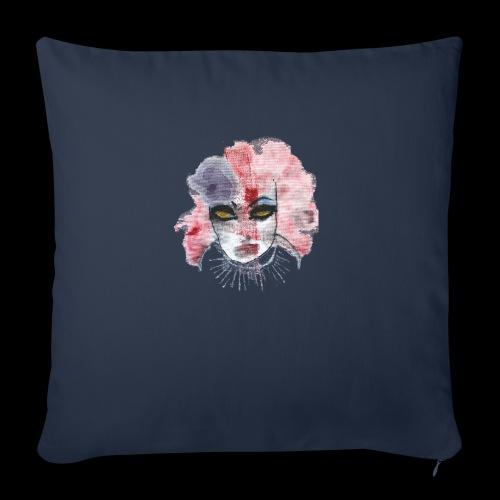 Clowngirl - Sofakissenbezug 44 x 44 cm