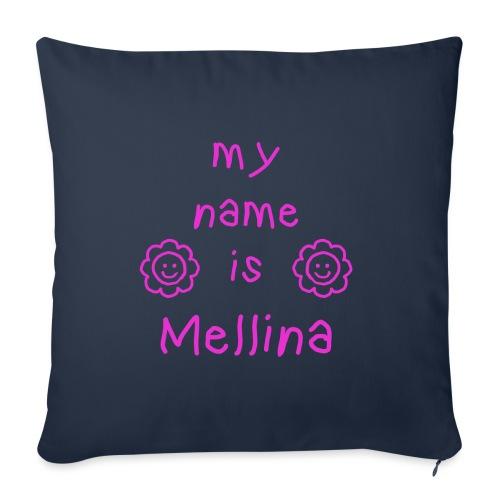 MELLINA MY NAME IS - Housse de coussin décorative 45x 45cm