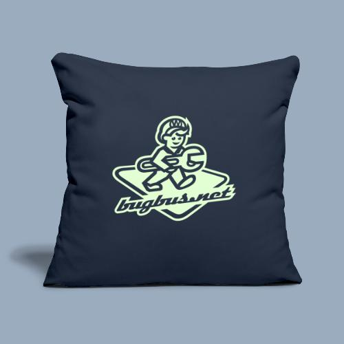 bUGbUs nE LOGO - Sofa pillowcase 17,3'' x 17,3'' (45 x 45 cm)