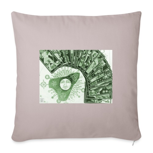 L'evidenza occulta - Copricuscino per divano, 45 x 45 cm