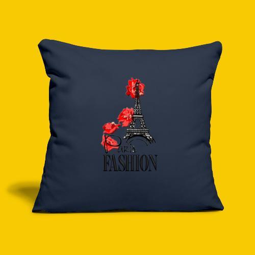 PARIS FASHION - Housse de coussin décorative 45x 45cm