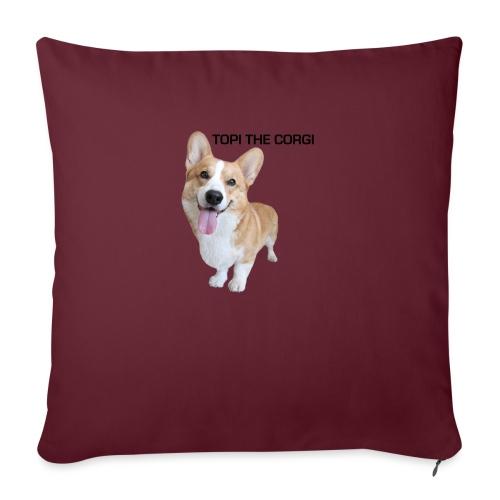 Silly Topi - Sofa pillowcase 17,3'' x 17,3'' (45 x 45 cm)