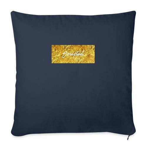 Scripted. Box Logo - Sofa pillowcase 17,3'' x 17,3'' (45 x 45 cm)