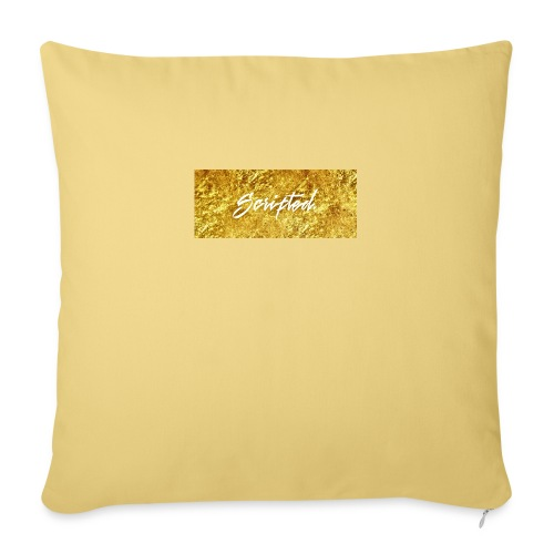 Scripted. Box Logo - Sofa pillowcase 17,3'' x 17,3'' (45 x 45 cm)